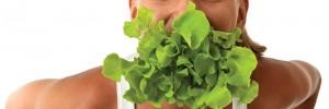 woman_green food