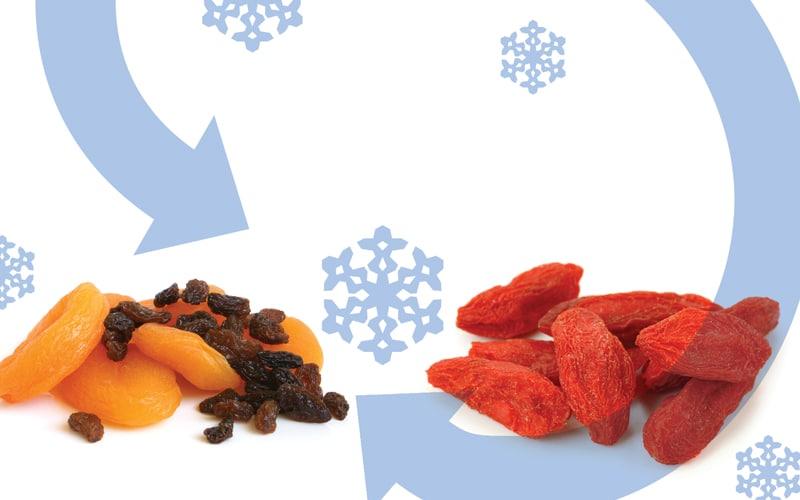 Freeze-drying-food