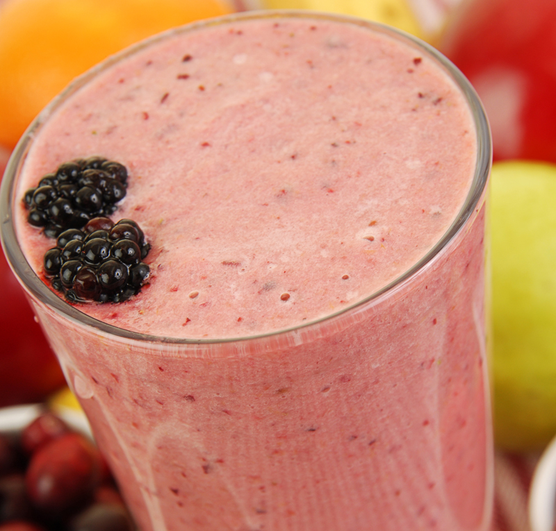 Slim Down Smoothie Blackberry - Μπανάνα γάλα καρύδας