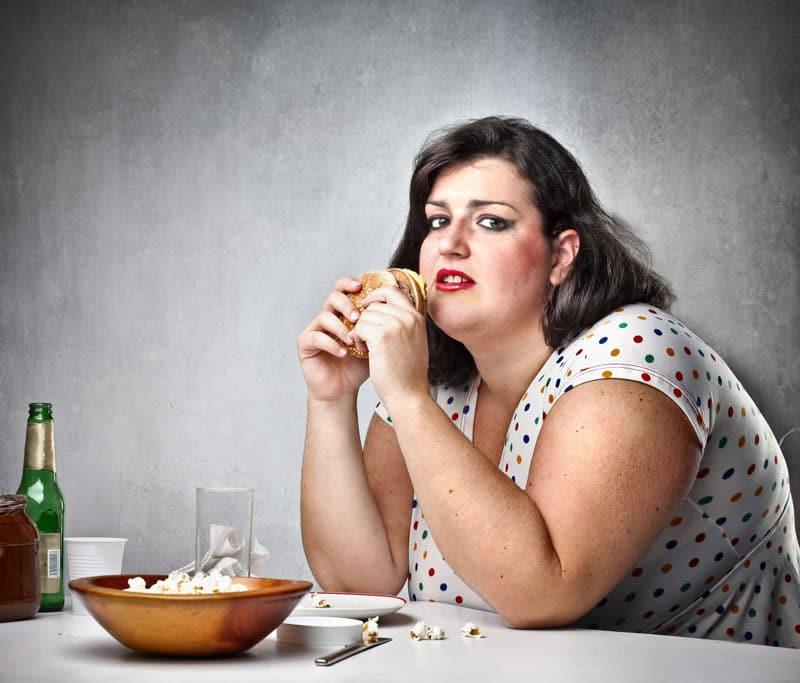 κατάθλιψη, παχυσαρκία