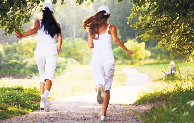 Γυμναστική στη φύση