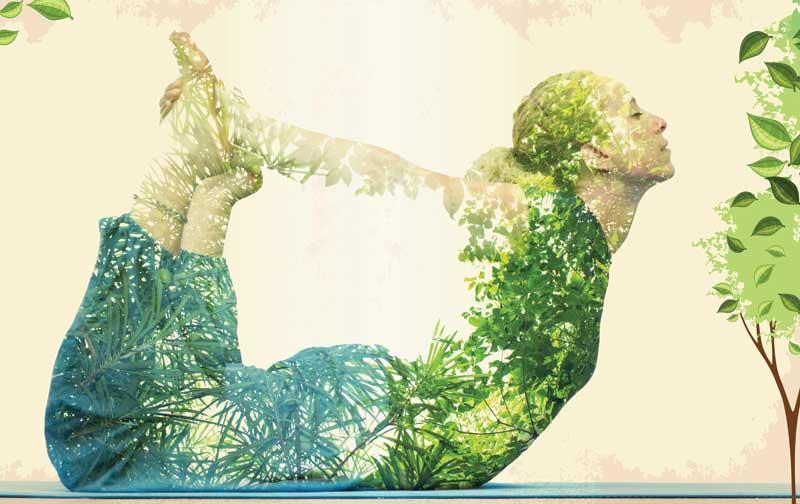 οικοψυχολογία, κοπέλα, φύση