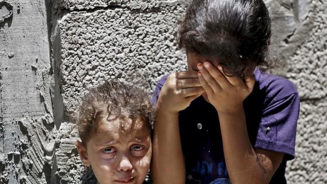 Mideast Palestinians Children Killed
