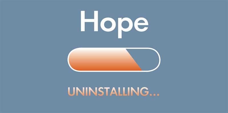 hope uninstalling