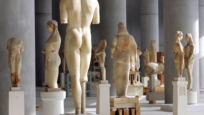 αρχαία ελληνική τέχνη στο Μουσείο Ακρόπολης