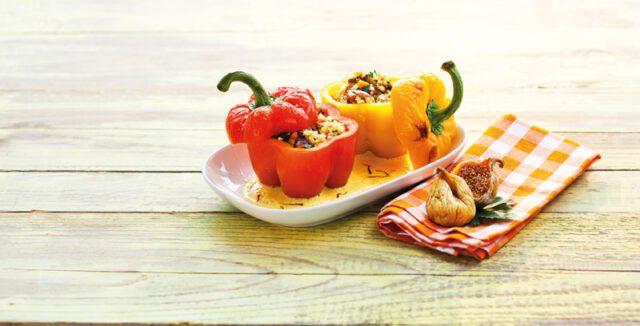 πιπεριές γεμιστές