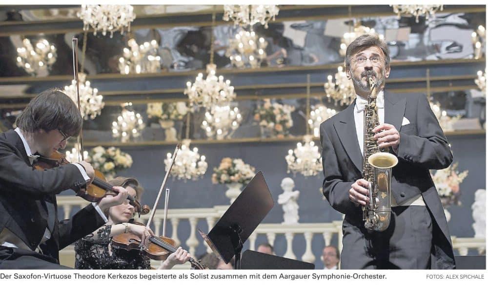 O βιρτουόζος του σαξοφώνου Θεόδωρος Κερκέζος στο Μέγαρο Μουσικής