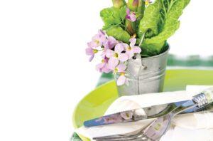 Σαλάτες από ανοιξιάτικο περιβόλι