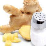 Αλάτι και τζίντζερ για τη δυσπεψία