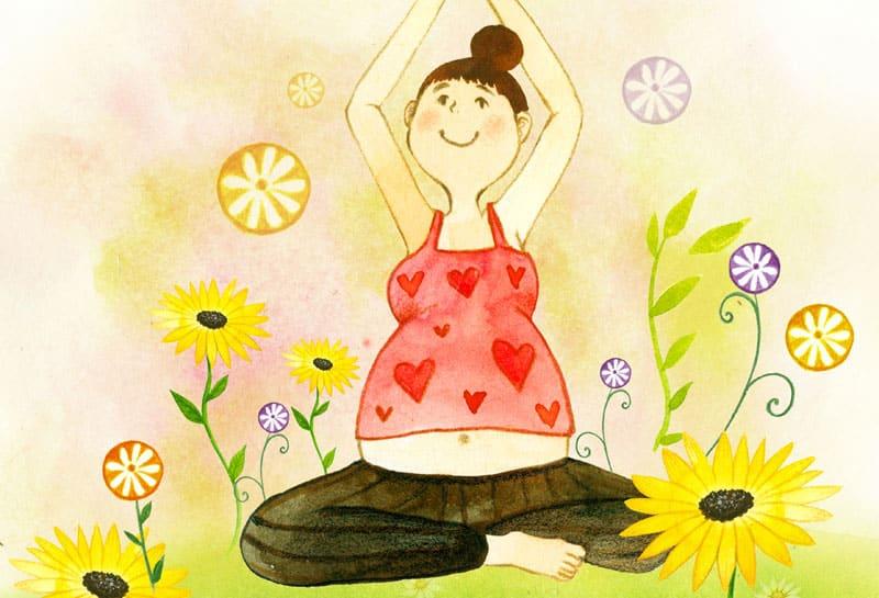 pregnant woman, wellness-Πάρε μια βαθιά συνειδητή Αναπνοή-naturanrg