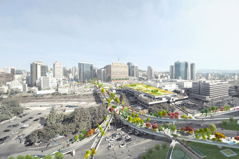 Skygarden: ο αυτοκινητόδρομος που γίνεται πάρκο!