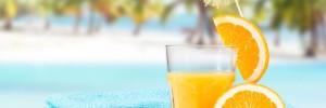 orange juice, summer