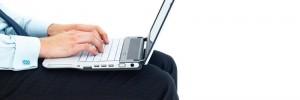 laptop, legs, man, office