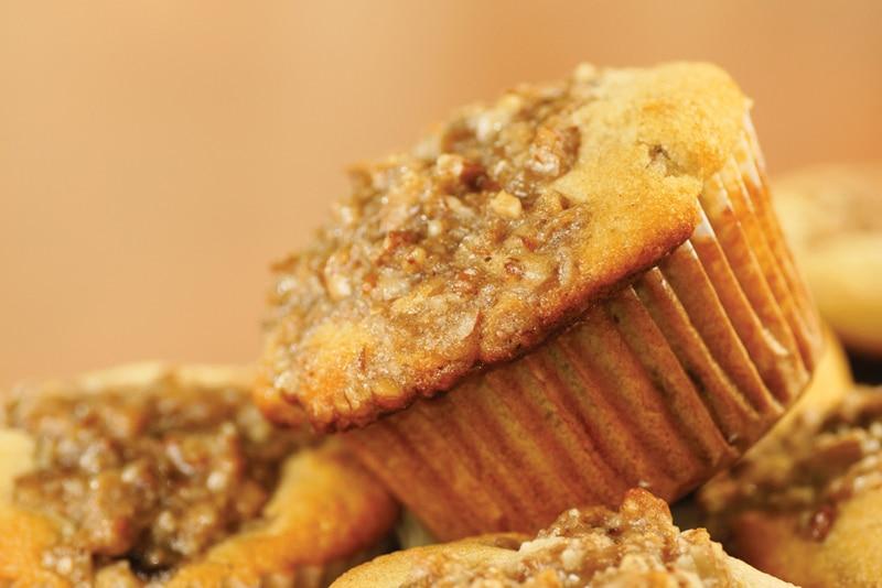peanut-butter muffins