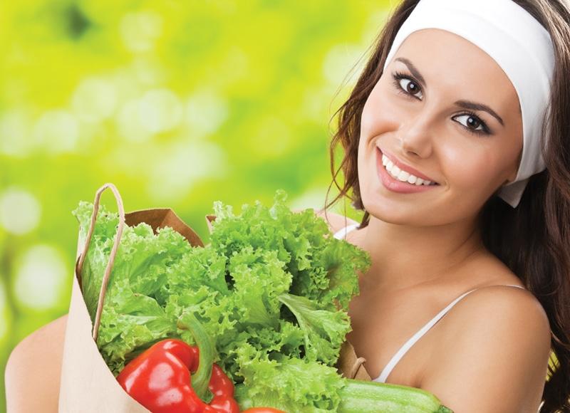 woman, healthy-diet