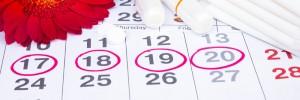 menstruation, calendar