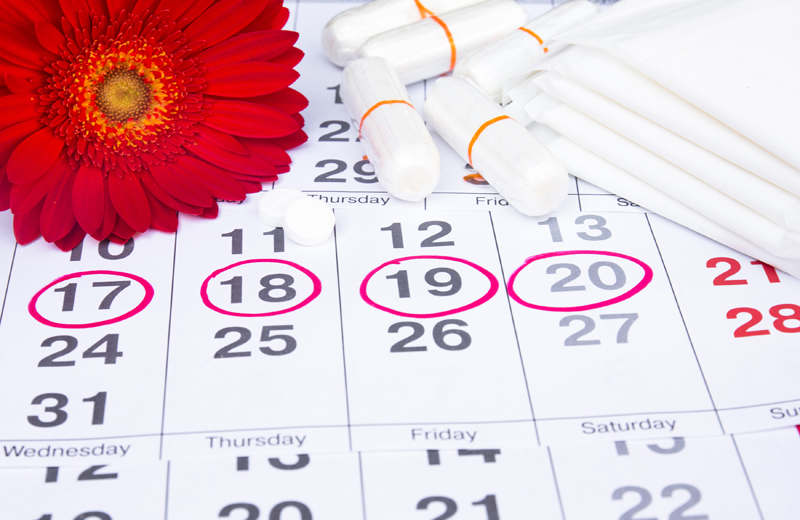 menstruation, calendar-Γιατί πεινάω περισσότερο πριν την έμμηνο ρύση;