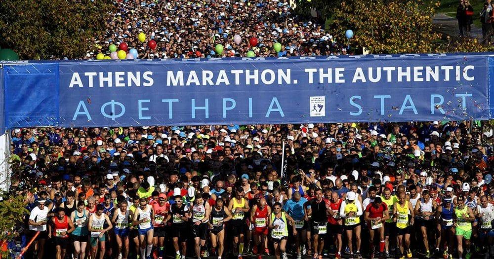 33ος Μαραθώνιος: 43.000 αθλητές στους δρόμους της Αθήνας