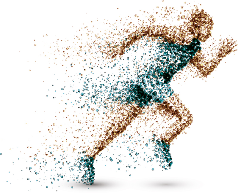 man, health, running