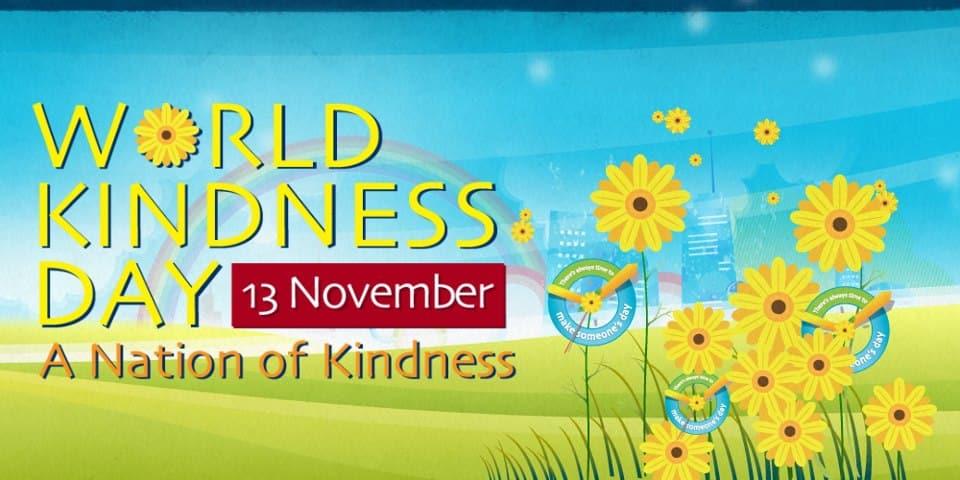 13 Νοεμβρίου: Παγκόσμια Ημέρα Καλοσύνης