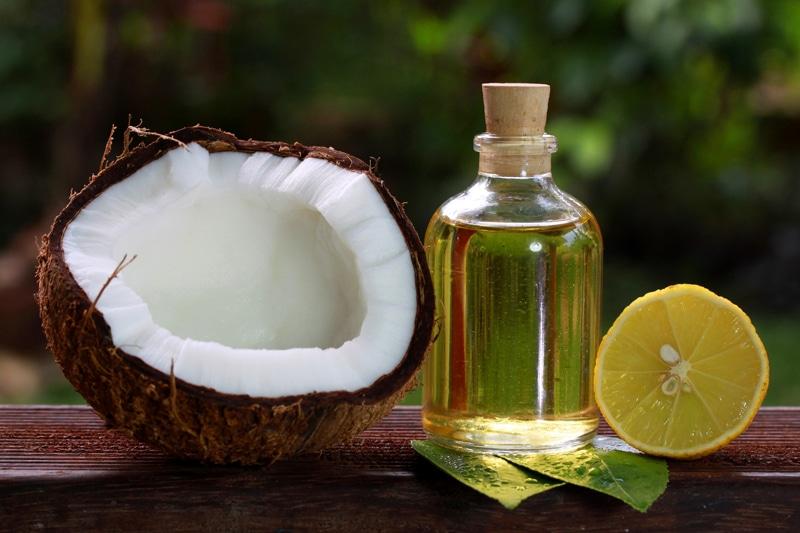 Lemon-Juice-and-Coconut-Oil
