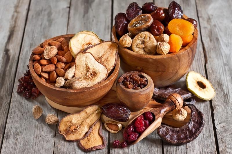 Αποξηραμένα φρούτα πηγή αντιοξειδωτικών