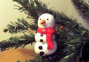 Χριστουγεννιάτικα στολίδια από αλατοζύμη!
