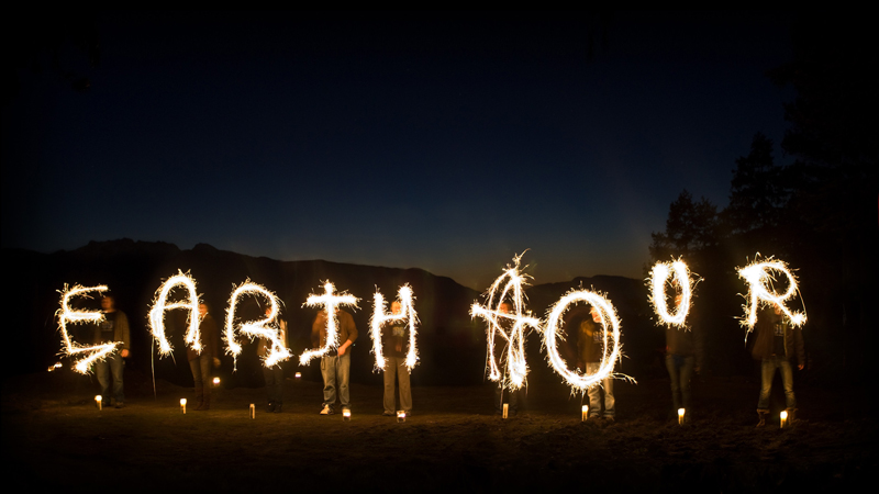 earth-hour-fire