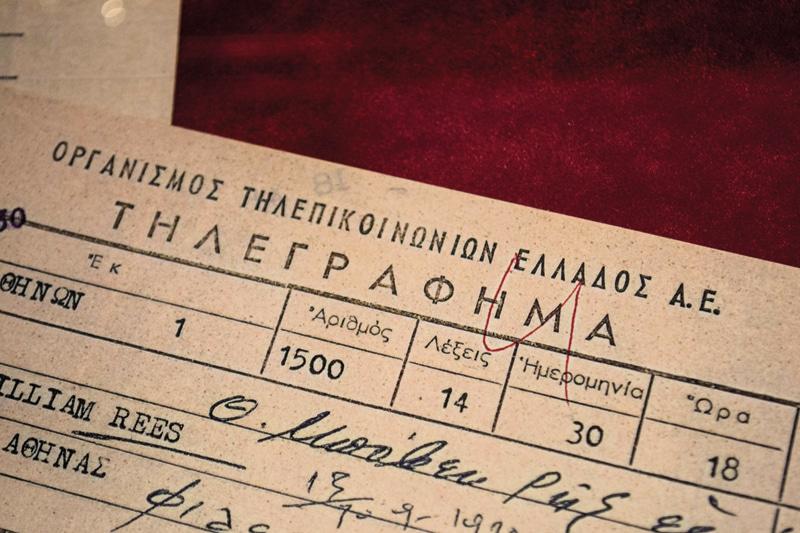 «Ένα τηλεγράφημα ξετυλίγει το κουβάρι των συναισθημάτων στο Μουσείο Τηλεπικοινωνιών»