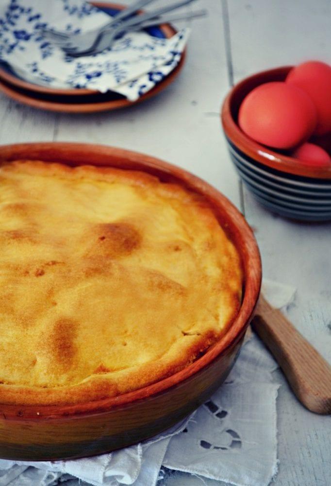 Γλυκιά Τυρόπιτα για Πασχαλινό Τραπέζι!