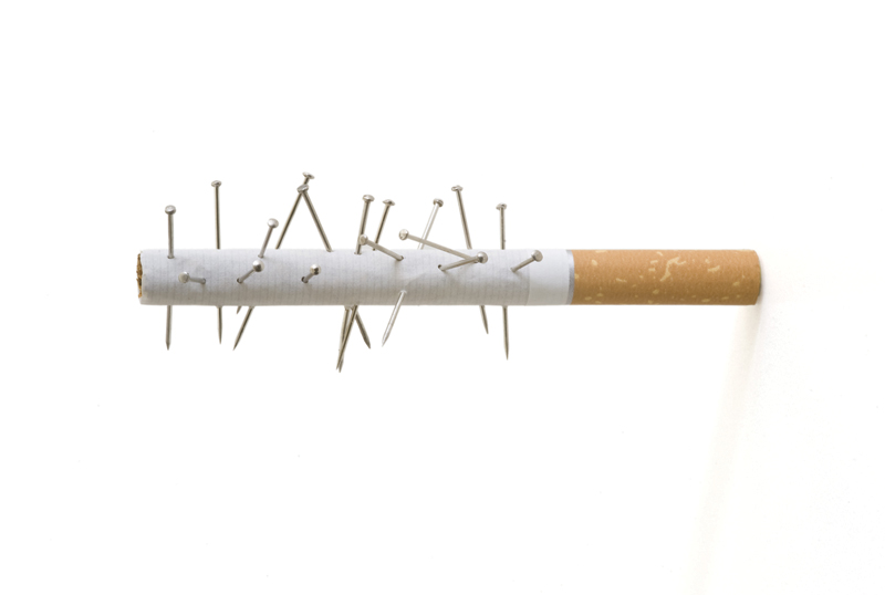 cigarette, acupuncture