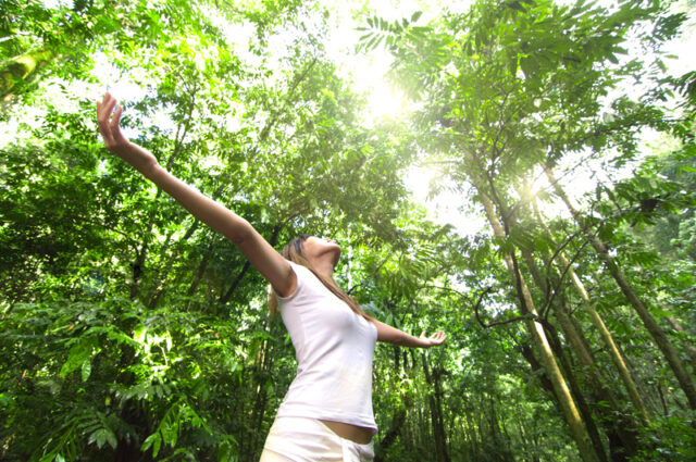 woman-nature
