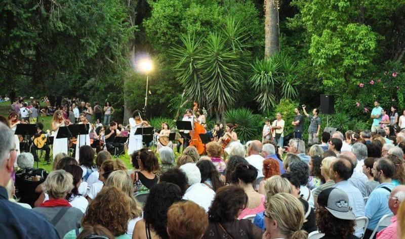 Το Σεπτέμβριο ο Εθνικός Κήπος γεμίζει μουσική!