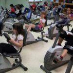Ποδήλατα αντί για θρανία:  Άσκηση και μάθηση, 2 σε 1.