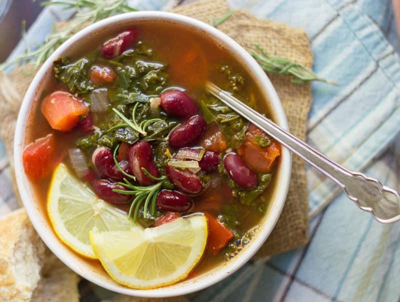 Σούπα με Λαχανίδα