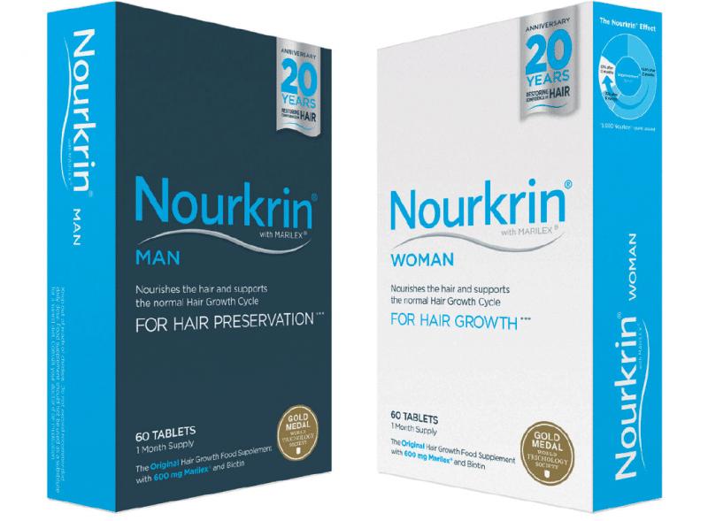 Φροντίδα μαλλιών από το Nourkrin®