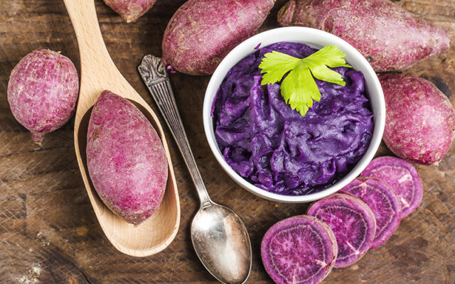 Dip από miso, γλυκοπατάτα και ταχίνι NaturaNrg