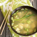 Ντιπ και σούπα με miso