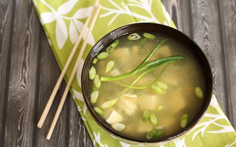 Ντιπ και σούπα με miso NaturaNrg
