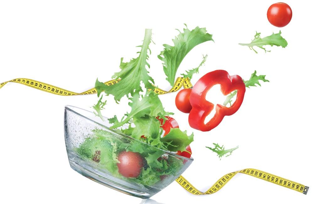 Ιδανικό βάρος με φυτική διατροφή