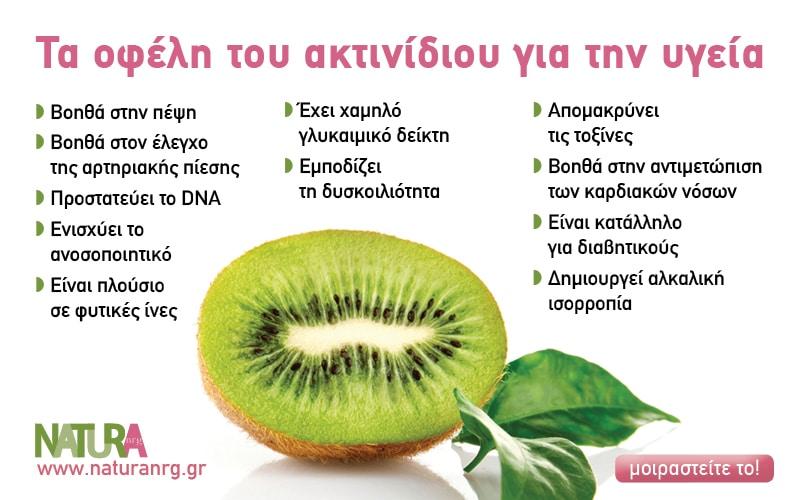 Aκτινίδιο το φρούτο του φθινοπώρου