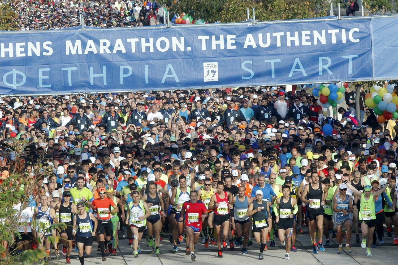 Πολλά τα ρεκόρ στον 35ο Μαραθώνιο της Αθήνας!
