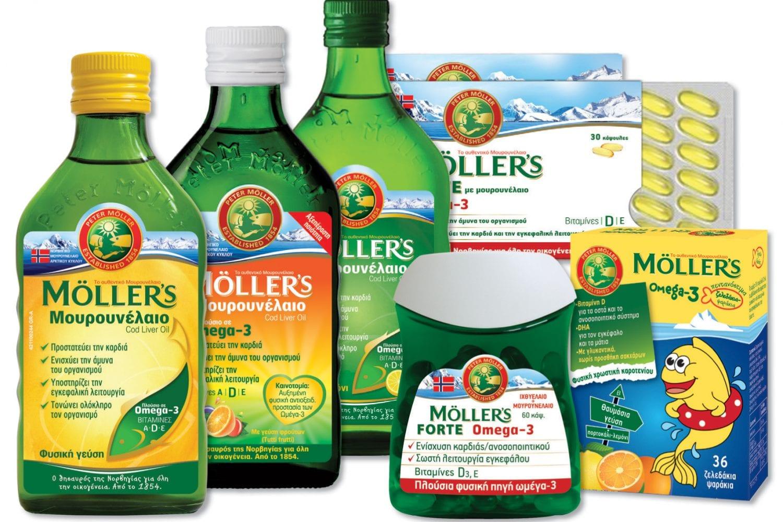 Moller's: κρυολόγημα τέλος!