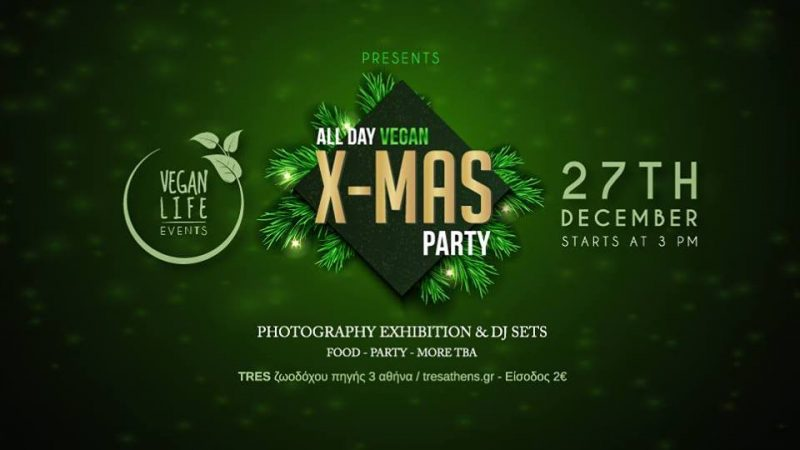 All day x-mas vegan party 27.12.2017
