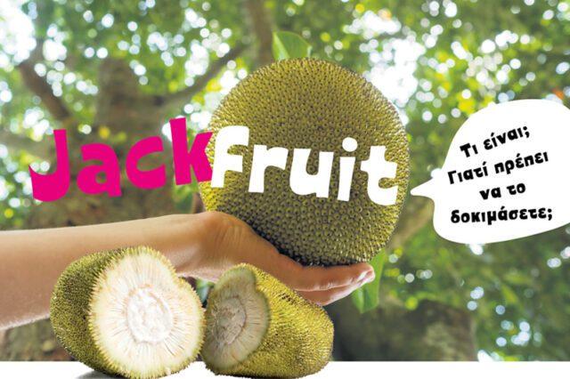 Jackfruit Γνωρίστε το νόστιμο, εξωτικό, γλυκό φρούτο