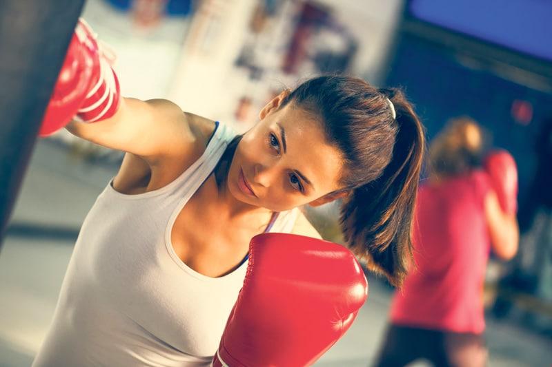 gynaika gymnazetai boxing