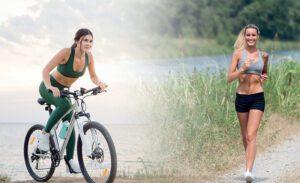 Ποδήλατο ή τρέξιμο;