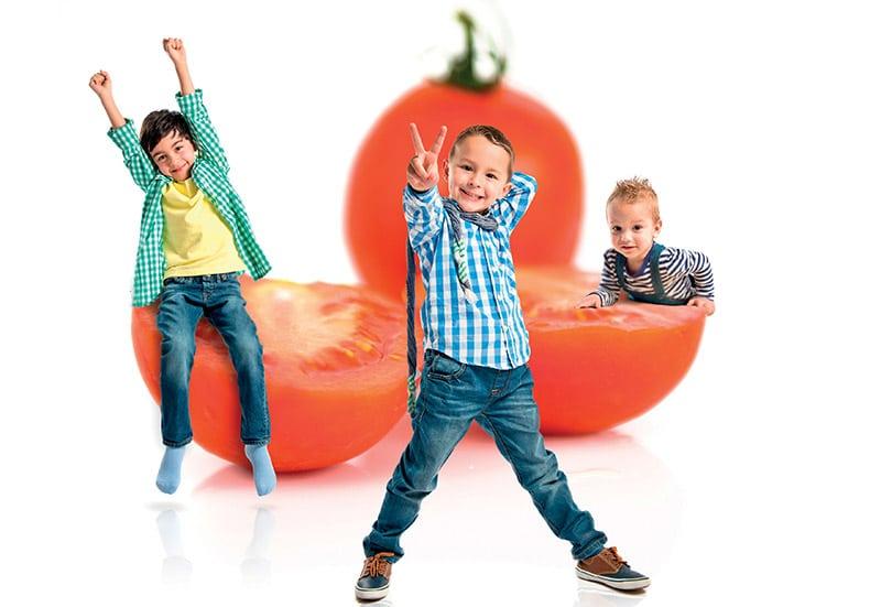 Παιδί: Η μάχη των λαχανικών