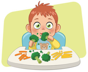 Baby-Led Weaning και Χορτοφαγία