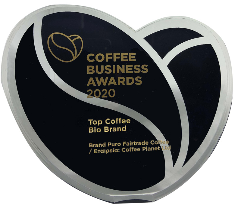 Coffee Planet: βραβεύτηκε ως «Top Coffee Bio Brand»